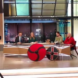 Jako gość porannego programu TVP1 'Dzień dobry Polsko', 25.10.2017 r.